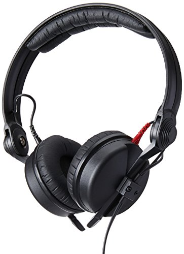 Sennheiser HD 25 Professional DJ Headphone, Black, 1 (HD25) - Hd 25 Professional Closed Headphone