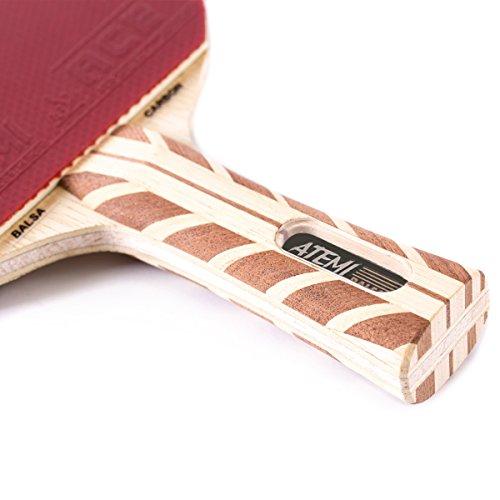 Atemi 5000 Table Tennis Bat (Carbon Balsa Wood) Professional Table ... fa4040c4ac801