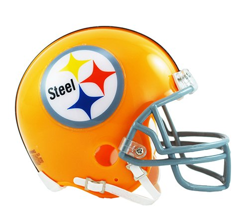 Pittsburgh Throwback Helmet Steelers (Pittsburgh Steelers 1962 Throwback NFL Riddell Replica Mini Helmet)