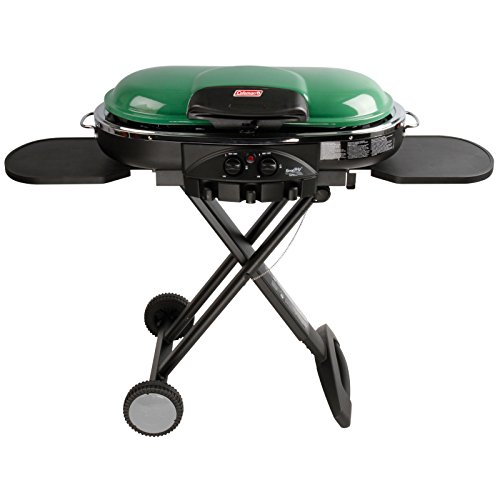 Coleman RoadTrip LXE Portable Propane Grill, Green