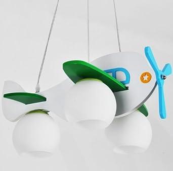 kinder kinder flugzeug kronleuchter lampe kreative comic ... - Kronleuchter Kinderzimmer Weis