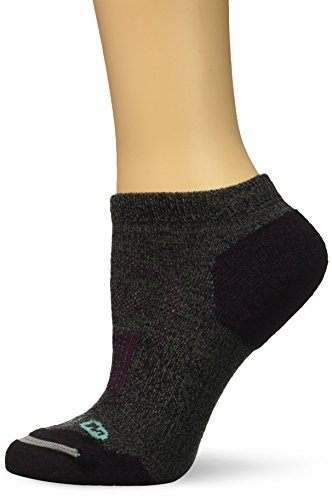Merrell Women's Zoned Low Cut Light Hiker Sock, Black, s/m ()