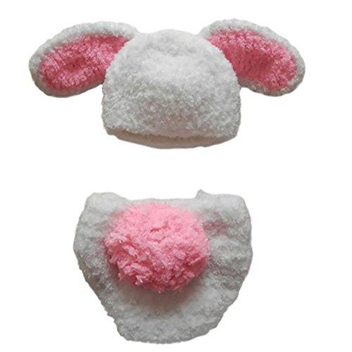 CX-Qu (Childs White Rabbit Hat)