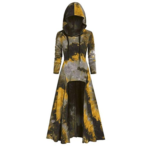 Halloween Costumes Columbia Mall - Aunimeifly Womens Stylish Cloak Tie Dyeing