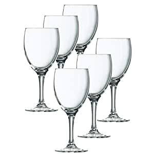 Luminarc Elegance White Wine Set Of 6 Pieces - 19 CL