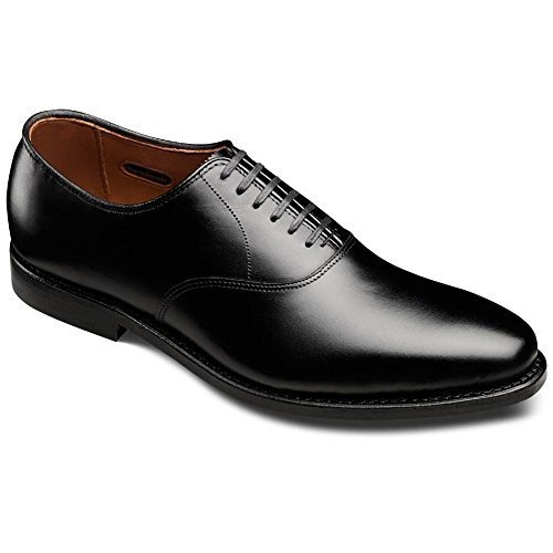 Allen-Edmonds Men's Carlyle Black Custom Calf Oxford 10 - Footwear Black Calf Custom