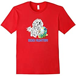 Happy Easter Maltese Dog Lovers T-Shirt Egg Hunting Cute