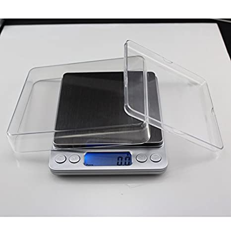 Balanza electrónica de precisión 500g0.01g micro balanzas de cocina de alta precisión electrónica de bolsillo de escala escala escala quilates: Amazon.es: ...