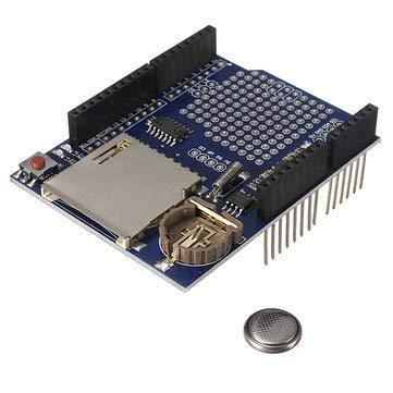 Arduino Compatible SCM & DIY Kits Module Board - Logging Recorder Shield Data Logger Module For UNO Card -1 x Data logger module