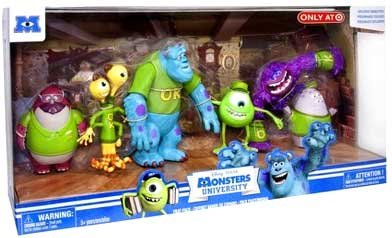 monsters inc action figures - 2