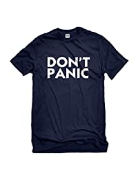 Indica Plateau Don't Panic Mens T-Shirt