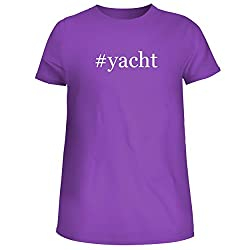 Yacht Cute Womens Junior Graphic Tee Purple Xx Large
