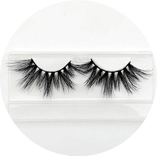 (Glad You Came Makeup Eyelashes 3D Mink Lashes Fluffy Crisscross Dramatic Mink False Eyelashes Handmade Reusable E80 Lashes maquillage,Glad You Came E86)