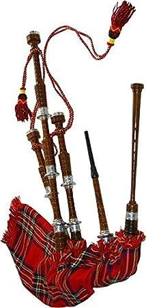 En las tierras altas de la gaita escocesa de gran tamaño completo (paquete de arranque Kit): Amazon.es: Instrumentos musicales