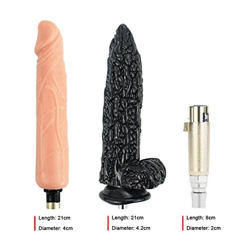 Realdios Advanced Sex Machine Gun,Wire-controlled Love Machine With Big Dildo,Pumping & Thrusting Automatic Dildo Retractable G-Spot Orgasms Masturbation Toy(QL5) by Realdios (Image #4)