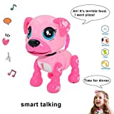 amdohai Interactive Puppy - Smart Pet, Electronic Robot Dog Toys for Age 3 4 5 6 7 8 Year Old Girls,...