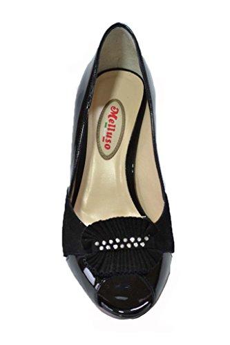 Melluso Decolte' scarpe donna nero E1220