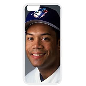 MLB iPhone 6 White Toronto Blue Jays cell phone cases&Gift Holiday&Christmas Gifts NBGH6C9125181
