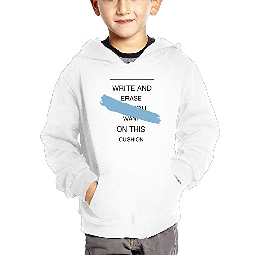Poorynrr Ppzx 2-6 Years Old Children Pure Cotton Erase All You Want On This Comfortable Hoodie