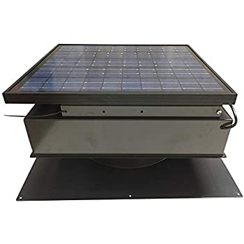 Remington Solar Attic Fan Solar 25 Watt Solar Powered