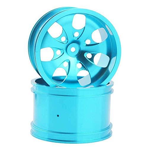 Toyoutdoorparts RC 08008N Alumiunm Blue Wheels 4pcs for RedCat 1:10 Nitro Volcano S30 Truck