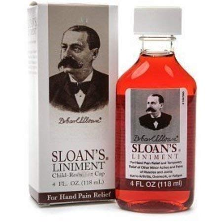 Lee Pharmaceuticals Sloan's Liniment, 4-Ounce. Boxes