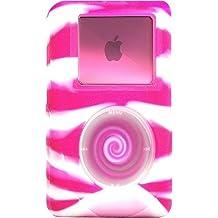 reEVOlutions iSkin eVo2 Silicone Skin Case for 20 GB iPod classic 4G (Wild Side Pink/White Swirl)