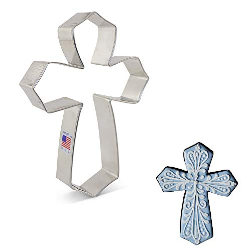 Cross Cookie Cutters (Ann Clark Cookie Cutters Extra Large Cross Cookie Cutter by Tunde's Creations,)