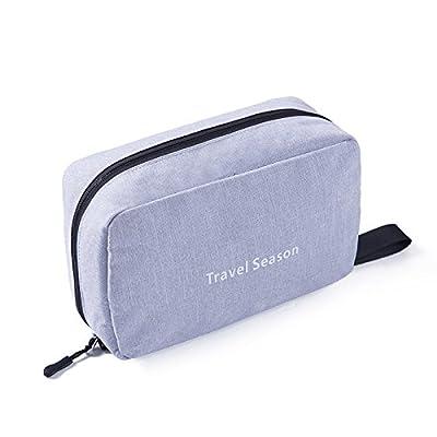 LULANSac cosmétique voyage Women's University-un simple paquet admission portable sac imperméable baignoire Piscine d''articles ,23*15*9cm, gris