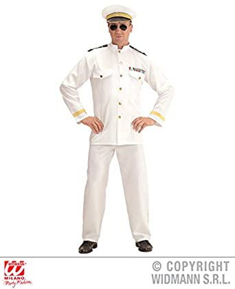 c4aae41e1 XS Mens NAVY CAPTAIN jacket, pants, hat Accessory for Naval Military ...