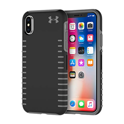 Under Armour UA Protect Grip Case for iPhone Xs & iPhone X - Black/Graphite