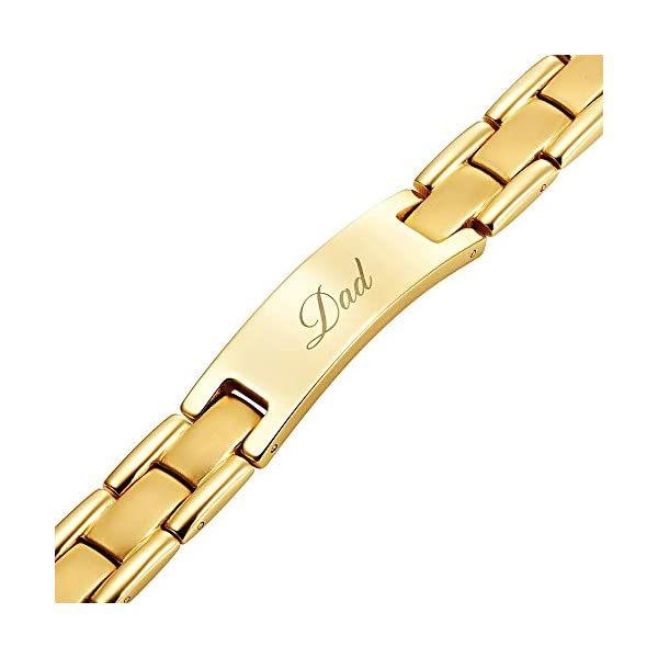 DAD-Titanium-Bracelet-Engraved-Best-Dad-Ever-Size-Adjusting-Tool-and-Gift-Box-Included-by-Willis-Judd
