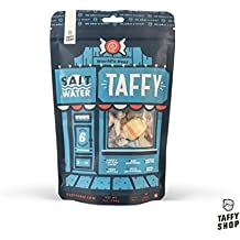 Taffy Shop World's Best Salt Water Taffy Mix--6 Gourmet Flavors: Birthday Cake Cake, Very Vanilla, Wild Watermelon, Banana Dream, Crazy Cotton Candy, Rad Raspberry (1 Bag)