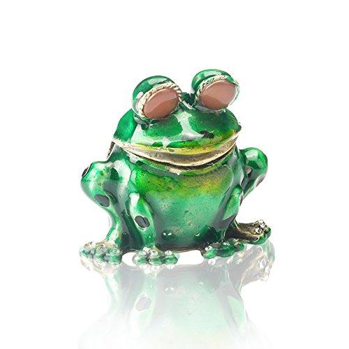 Enamel Frog Box - 4