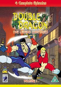 Amazon Com Double Dragon The Legend Continues Dvd Double