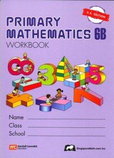 Read Online Primary Mathematics 6B Workbook U.S. Edition pdf