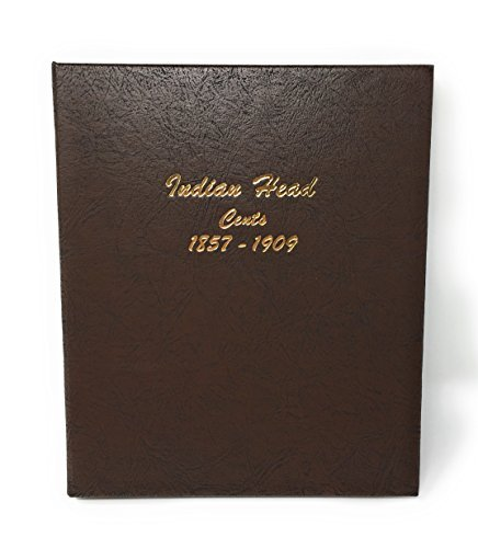 - Dansco US Flying Eagle and Indian Head Cent Coin Album 1857 - 1909 #7101