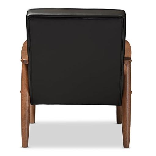 Farmhouse Accent Chairs Baxton Studio BBT8013-Black Chair armchairs, Black farmhouse accent chairs