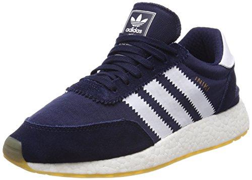 Gum a Uomo Sneaker 3 Runner Collegiate Ftwr Blu Collo Basso Iniki Navy White adidas qtwp7Caq