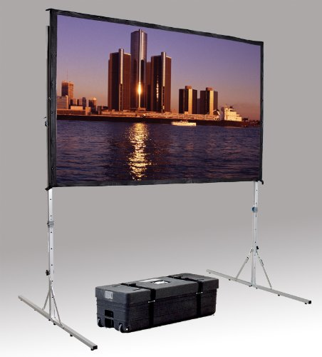 DALITE Fast Fold Delux Projection Screen 65 x - Fast Projection Fold Screen