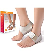Heel That Pain Heel Seat Wraps for Plantar Fasciitis and Heel Spurs - Perfect for Heel Pain Relief While Barefoot or with Sandals | Patented, Clinically Proven, 100% Guaranteed (Large)