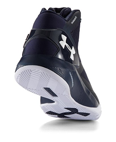 UA Navy Mens Metallic Shoes Midnight 2 White Drive Clutchfit Silver 6TdFqYwR