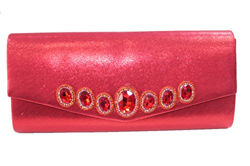 Wear & Walk UK , Damen Sandalen 43 Bag- Red