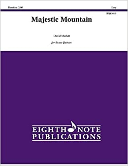 Book Majestic Mountain: Score & Parts (Eighth Note Publications)