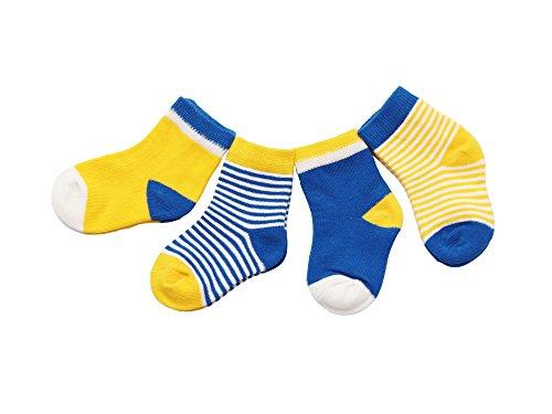 DEBAIJIA 4 Paia Calzini Bambini Calze Ragazze Ragazzo Spessi Cotone Caldo Inverno Confortevole 0-36 Mesi Abbigliamento 2