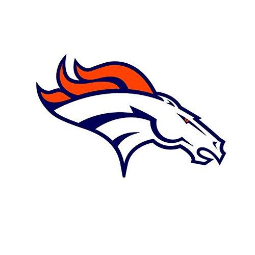 Broncos Sport team Decal Sticker 7 x 10 -