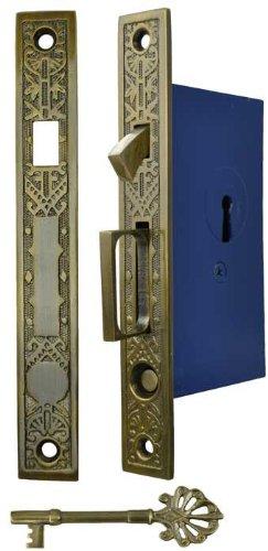 Single Pocket Door Mortise Lock Set (ZLW-50F)