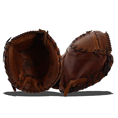 Shoeless Joe Gloves Fast Pitch Catchers Brown Mitt, 32-Inch, Right Handed by Shoeless Joe Gloves