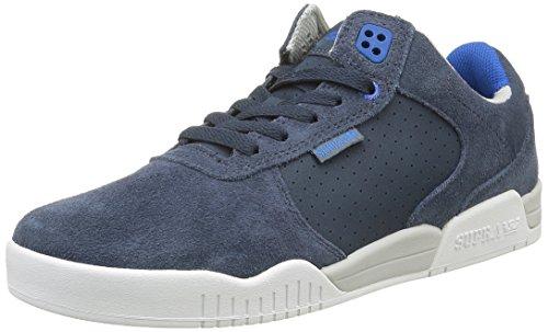 Supra Mens Ellington Navy Grey White Shoes