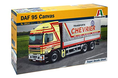 Italeri Model Kit - DAF 5 Canvas Truck - 1:24 Scale for sale  Delivered anywhere in USA